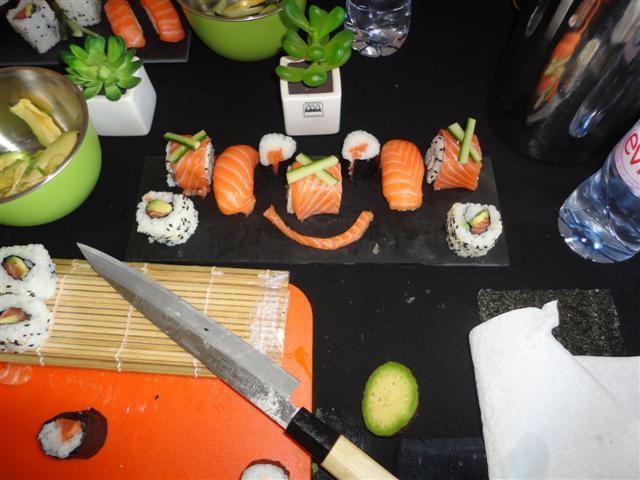 Le plateau de sushis fun