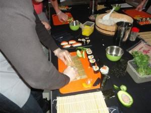 Atelier sushis de niveau avancé