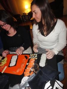 Cours de sushis à domicile - Mon premier maki