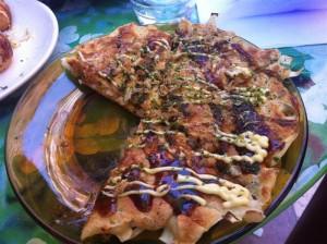 Okonomiyaki chez Takosan