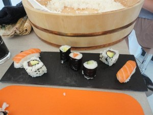 Apprendre à faire les sushis à la maison