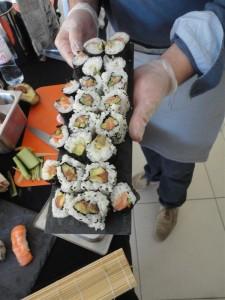 Le plateau sushis de Franco
