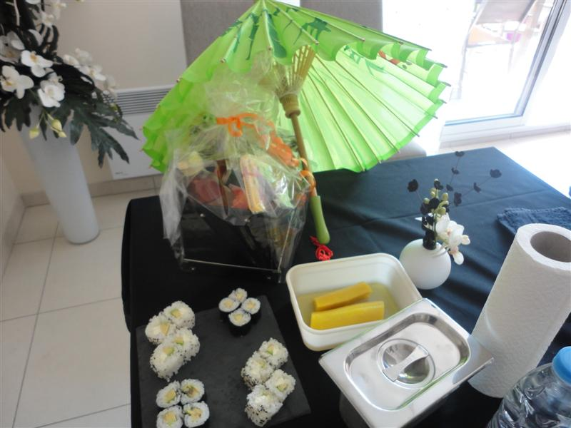 atelier sushis individuel avec kit sushis Sushiprod