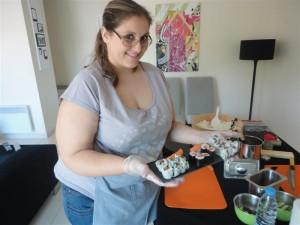 Sandrine de century 21 vous présente ses Sushis