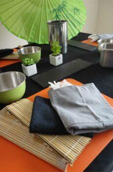 Atelier sushi debutant cours de cuisine avec Sushiprod