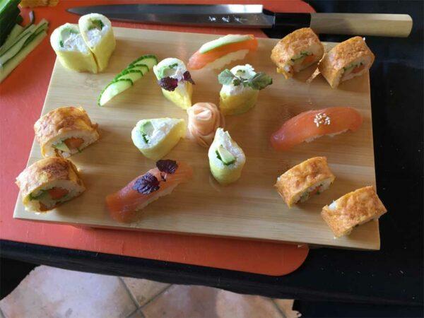 Atelier sushi de niveau expert par Sushiprod