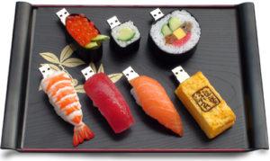 Idée cadeau pour la fête des Pères 2016 avec des sushis