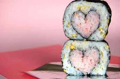 idée cadeau saint valentin 2019 en sushi