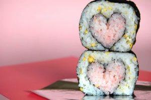 idées cadeaux saint valentin 2017 en sushi