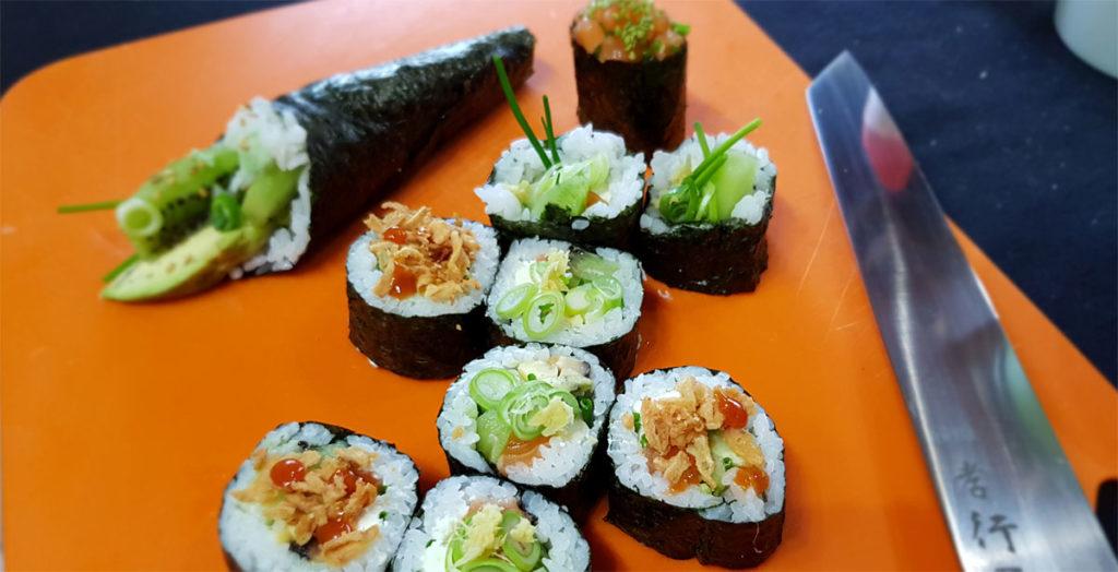 Atelier sushi de niveau avancé Sushiprod